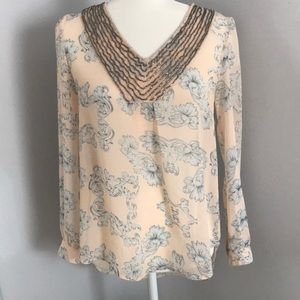 Blu Pepper beautiful feminine top S